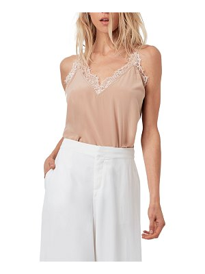 AS by DF Melrose Silk Cami w/ Lace