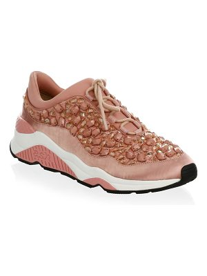 Ash crystal muse sneakers
