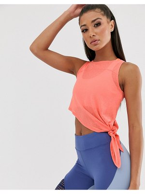 Asos 4505 sheer tie top