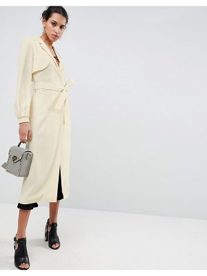 Asos DESIGN crepe duster mac