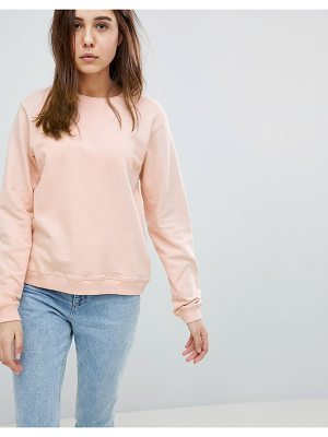 Asos DESIGN ultimate sweat in pink