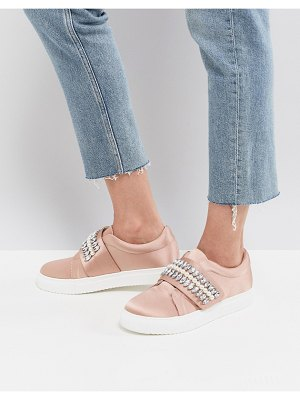 ASOS DESIGN darla embellished sneakers