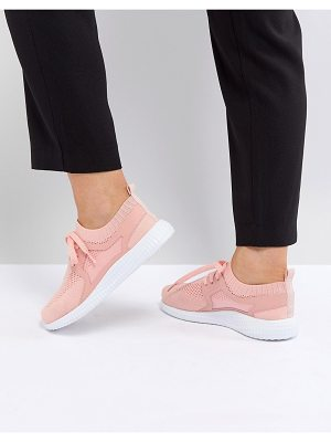 ASOS DESIGN asos delta knit lace up sneakers