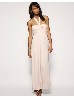 ASOS DESIGN asos jersey halter maxi dress
