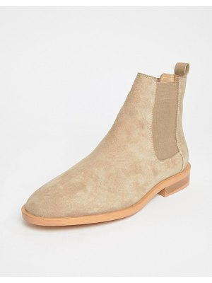 Asos Aura suede chelsea ankle boots