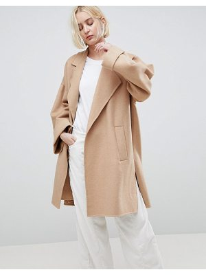 ASOS Design Coat With Seam Detail