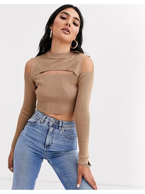 ASOS DESIGN cut out detail sweater
