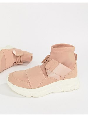 Asos Delphina Hi Top Sneakers