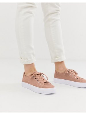 ASOS DESIGN dusty lace up sneakers