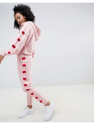 ASOS DESIGN hello kitty x  bow joggers