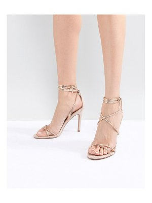 Asos Hettie Barely There Heeled Sandals
