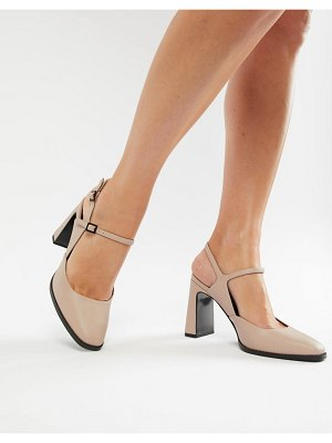 ASOS DESIGN prague block heels