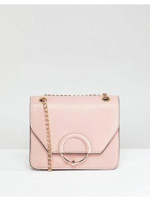 ASOS Design Ring And Ball Cross Body Bag With Chain Strap