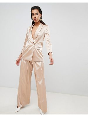 ASOS DESIGN tailored occasion wide leg pants