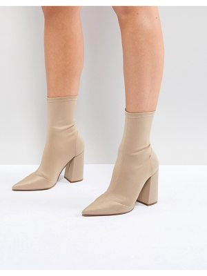 ASOS Ebonie High Heeled Sock Boots