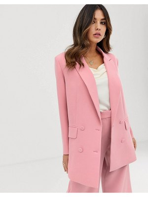 ASOS Edition double breasted jacket