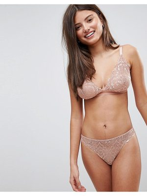 ASOS DESIGN asos fuller bust rita lace mix & match triangle bra