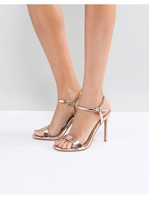 Asos Hands down barely there heeled sandals