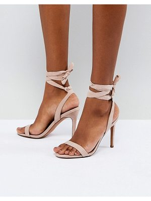 Asos Hatty barely there heeled sandals