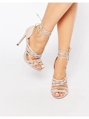 ASOS Hazy Lace Up Sandals