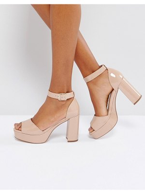 ASOS DESIGN asos heidi heeled sandals