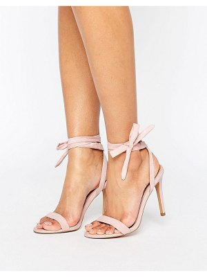ASOS DESIGN henrietta barely there heeled sandals
