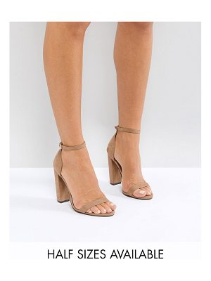 Asos Highball barely there heeled sandals