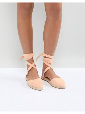 ASOS DESIGN jaynie two part espadrilles