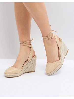 ASOS DESIGN asos juiciest espadrille wedges