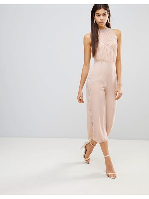 ASOS Jumpsuit With Pearl Embellishment