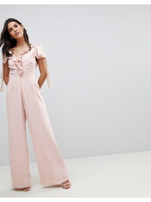Asos Jumpsuit with Soft Ruffle Detail
