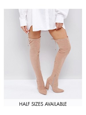 ASOS DESIGN asos karma pointy over the knee boots