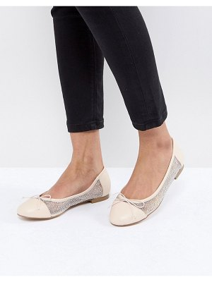 ASOS DESIGN asos light show crystal ballet flats