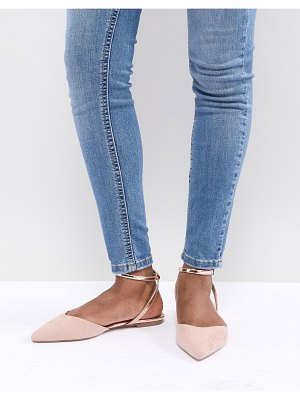 Asos Lofty pointed ballet flats