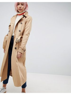 Asos DESIGN longline classic trench coat