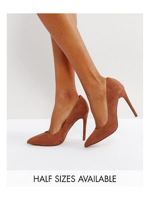 Asos DESIGN Paris pointed high heels
