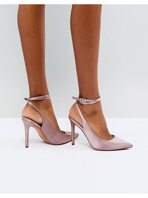 ASOS DESIGN pickle pointed high heels