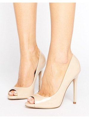 ASOS DESIGN asos praise peep toe high heels