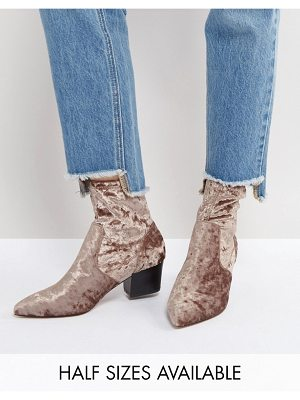 ASOS DESIGN regional point sock boots