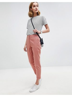 ASOS DESIGN asos tailored linen cigarette pants