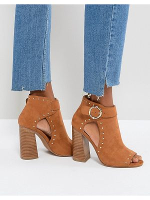Asos TAMARA Studded High Heeled Shoe Boots