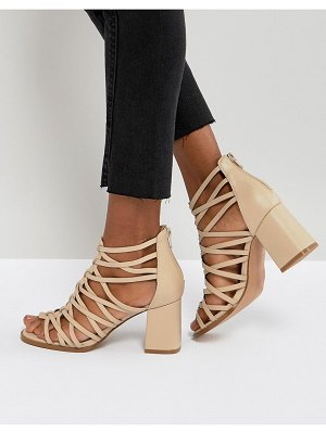 ASOS DESIGN thistle block heeled sandals