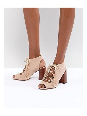 ASOS DESIGN tonic lace up heeled sandals