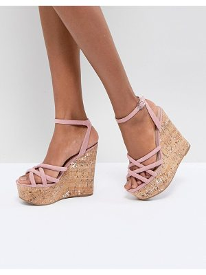 ASOS DESIGN asos tulita high wedges