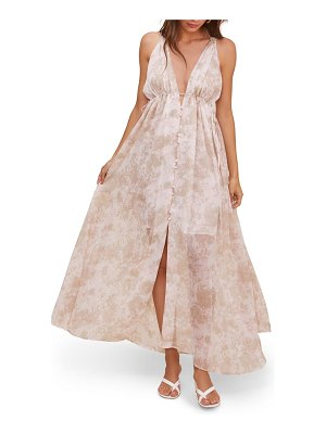 ASTR the Label amalfi maxi dress
