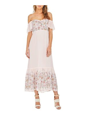 ASTR THE LABEL Angelina Off The Shoulder Maxi Dress