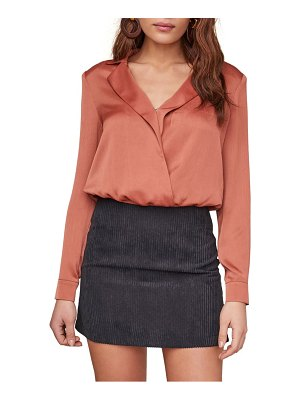 ASTR the Label calypso long sleeve crop blouse