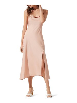 ASTR the Label cowl slip midi dress