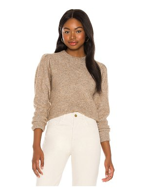 ASTR the Label dorothy puff sleeve sweater