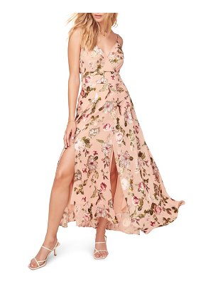 ASTR the Label floral print sleeveless maxi dress
